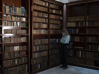 Fondo bibliotecario del Colegio Internacional de Sevilla San Francisco de Paula.