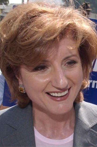 Arianna Huffington, fundadora de <i>Huffington Post</i>, en una fotografía de archivo.