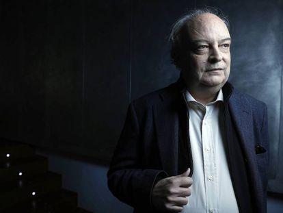 El escritor Enrique Vila-Matas, en Madrid.