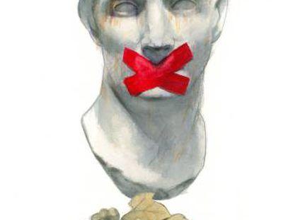 Una de las ilustraciones de 'Fábulas irónicas'.