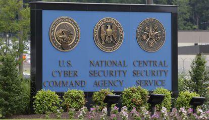 La entrada de la Agencia Nacional de Seguridad.