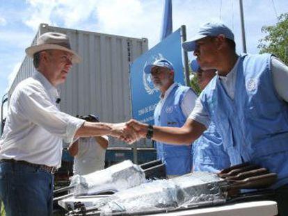 En el proceso que tardó ocho meses la ONU asegura que recibió 8.112 armas de la guerrilla