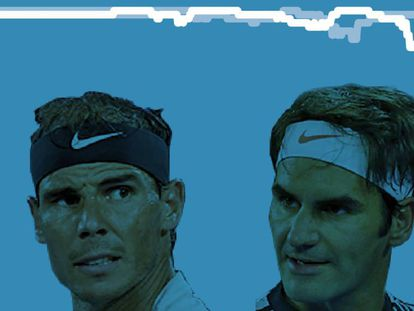 Rafa Nadal - Roger Federer, final Open de Miami