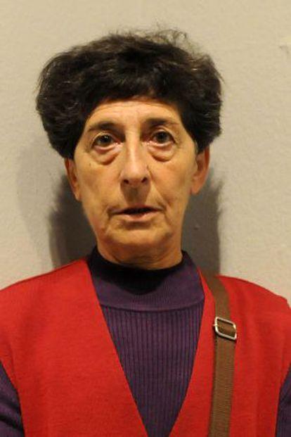 La artista donostiarra Esther Ferrer.