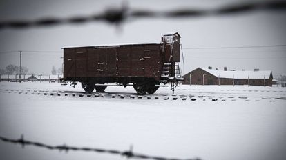 Campo nazi de Auschwitz-Birkenau en Oswiecim, Polonia.