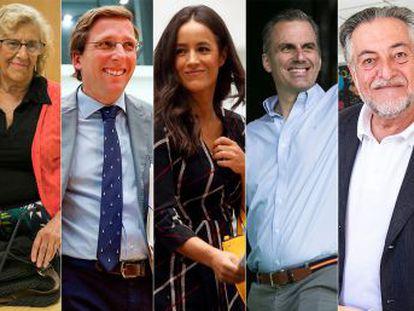 Los seis aspirantes a la alcaldía chocan por el urbanismo y Madrid Central