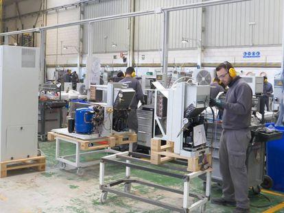 Una fábrica del productor de equipos de refrigeración Intarcon.