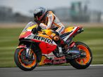 MotoGP - British Grand Prix - Silverstone Circuit, Silverstone, Britain - August 28, 2021 Repsol Honda's Pol Espargaro reacts after qualifying in pole position Action Images via Reuters/Andrew Boyers