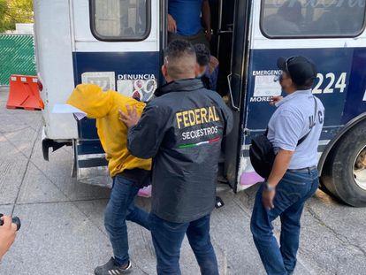 Operativo policial contra la toma de la caseta del Alpuyeca.
