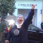 María Luisa Fernández, en las marcha de Núñez de Balboa