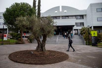 Campus de la Universidad Europea de Madrid, el pasado viernes.