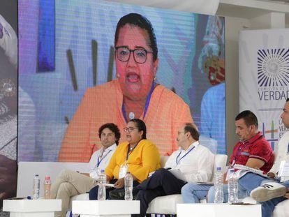 Uno de los diálogos organizados por la Comisión de la Verdad, en Arauca.
