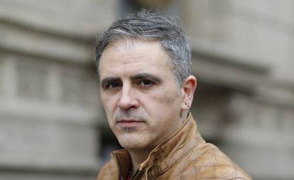 Retrato del escritor argentino Marcelo Luján.
