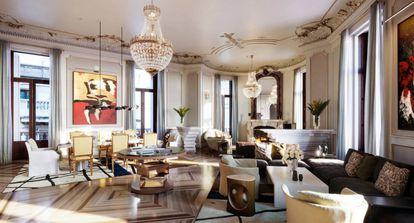 Royal Suite del hotel Four Seasons.  