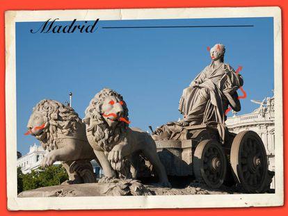 La fuente de la diosa romana Cibeles es una de las estampas más reconocibles de Madrid, una ciudad que despierta tanto amor entre el resto de españoles por su carácter acogedor y desacomplejado como rechazo por cierta fama de ombliguista y de derechas que durante esta pandemia parece haberse extendido.