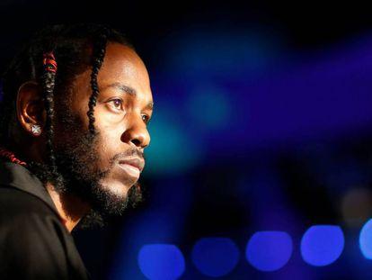 Kendrick Lamar, en agosto de 2017 en California.