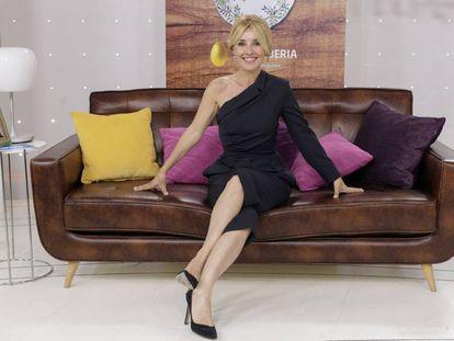 Cayetana Guillén Cuervo en la presentación de 'Cena Con Mama'.