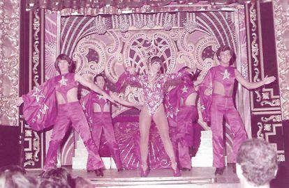 La Maña, en una actuación en El Molino en 1982.