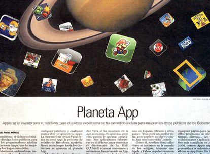 El auge de las tiendas de aplicaciones, portada de febrero de 2010.