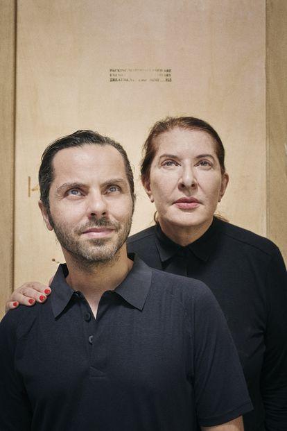 En la imagen con Giuliano Argenziano.