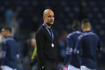 Guardiola, after falling in the Champions League final.