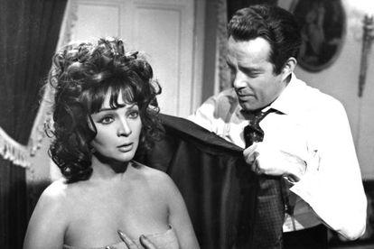 """Con la comedia 'Cinco almohadas para una noche' (Pedro Lazaga, 1974) dejó el cine. """"El destape no era para mí"""", explica la actriz. """"Era muy vulgar. Tuve muchas ofertas, pero no acepté""""."""