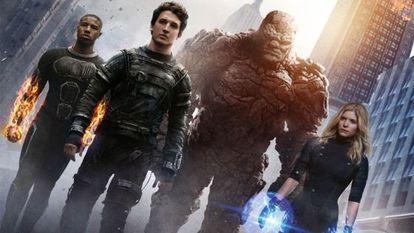 Los 'Cuatro Fantásticos', en una imagen promocional de la película.