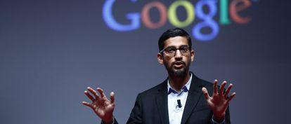 El vicepresidente de Google, Sundar Pichai.