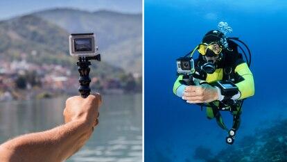 Grabar cualquier aventura es posible gracias a estos ligeros modelos de cámaras GoPro. GETTY IMAGES.