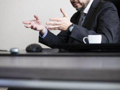El fiscal Emiliano Arias.