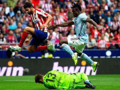 El equipo de Simeone, sin desequilibrio, y el de Escribá empatan sin goles en un partido de poco juego y ocasiones