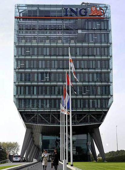 Sede del grupo ING en Ámsterdam.