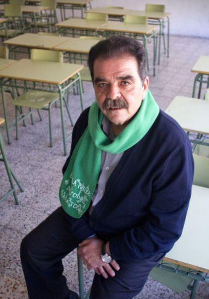 José Antonio Martínez, presidente de la Asociación de Directores de Instituto de Madrid.