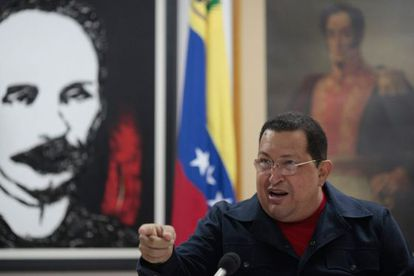 Chávez en el programa grabado en el que confirma que tiene otro tumor.