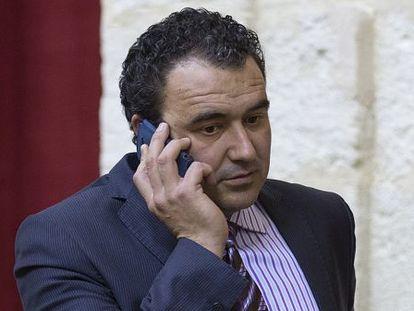 José Cara, en su etapa como diputado provincial en Andalucía.