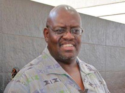 John Githongo, el ex jefe anti corrupción de Kenia.