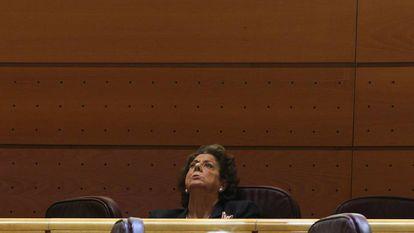 Rita Barberá, en las Cortes Valencianas, en una imagen de archivo.