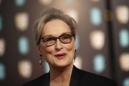 La acrtiz estadounidense Meryl Streep posa para los fotógrafos en Londres el pasado febrero.