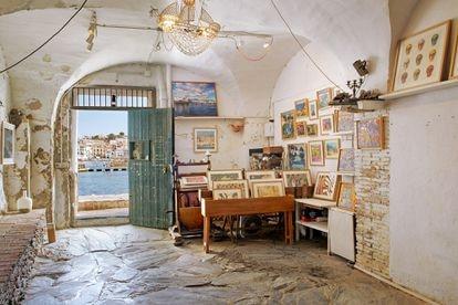 Taller de Tabakov, la galería que regenta Aznarez en Cadaqués.