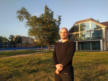 Georgi Kolbanov fue detenido en el centro de Minsk el pasado 10 de agosto. Fue enviado al centro de detención de Okréstino.