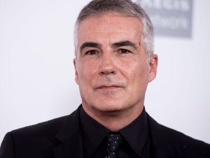 El periodista David Cantero durante una entrega de premio en abril de 2018 en Madrid.