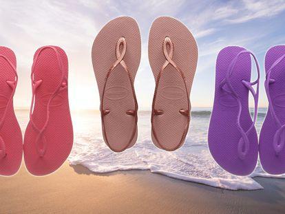 Elegimos las sandalias más urbanas de la marca Havaianas para este verano, disponibles en Amazon a un precio muy asequible.