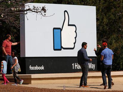 La sede central de Facebook, en California.