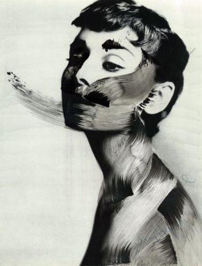 Una de las obras de Vermibus que se exponen en la galería barcelonesa La Taché.