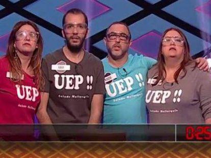 El equipo UEP!! deja '¡Boom!' después de 102 programas