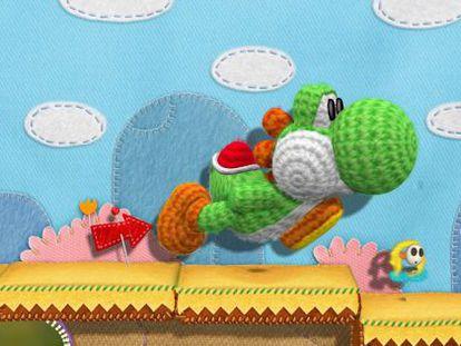 Yoshi, el dragón mascota de Mario Bros.