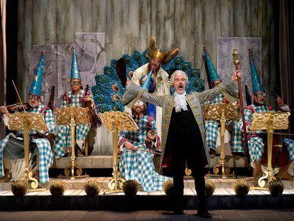 Ensayo de 'El concierto de San Ovidio', de Antonio Buero Vallejo, en el Centro Dramático Nacional.