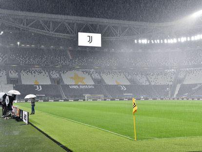 El Juventus Stadium, este domingo.