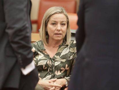 La presidenta de la comisión de investigación de la crisis financiera en el Congreso, la diputada Ana Oramas.