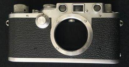 La Leica de Korda subastada, con la que tomó el retrato del Che Guevara.